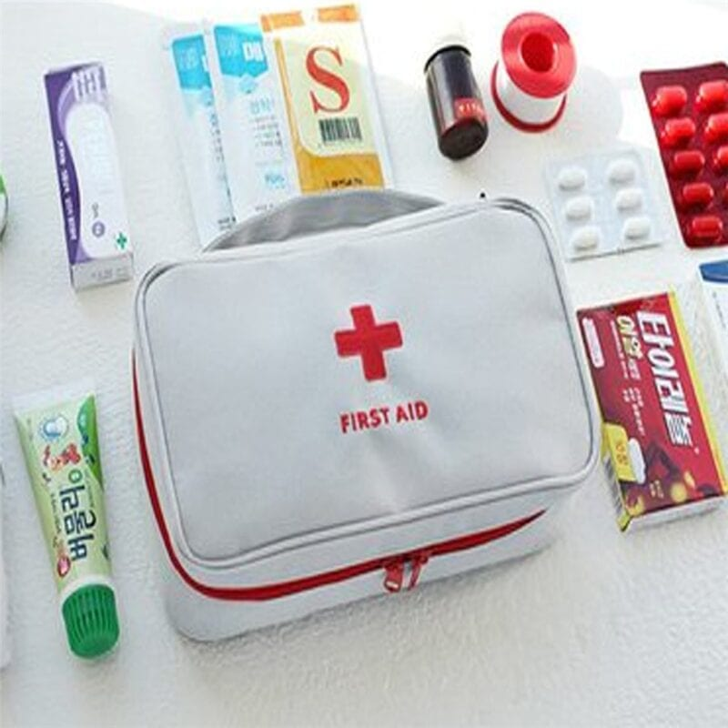 Emergency survival first aid kit treatment outdoor home rescue medical bag heat hogar cocina