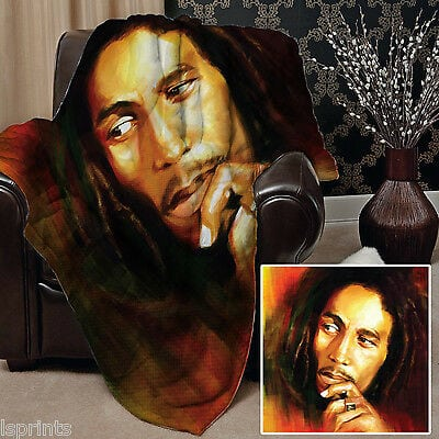 Κουβέρτα fleece bob marley