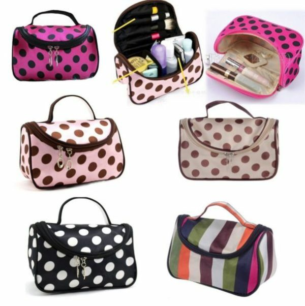Travel Organizer Accessory Toiletry Zebra Cosmetic Make Up Holder Case Bag Pouch 2