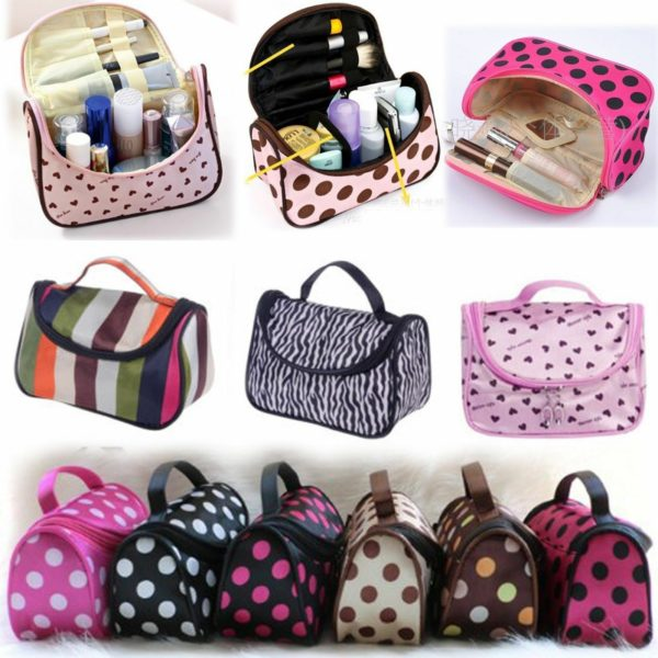 Travel Organizer Accessory Toiletry Zebra Cosmetic Make Up Holder Case Bag Pouch 4