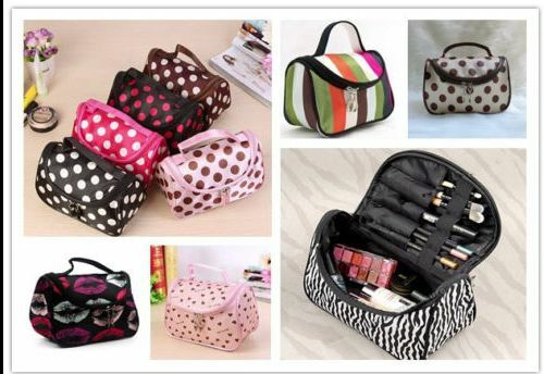 Travel Organizer Accessory Toiletry Zebra Cosmetic Make Up Holder Case Bag Pouch 3