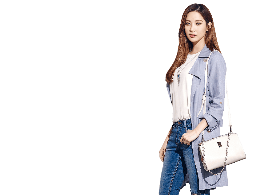 Woman bags banner