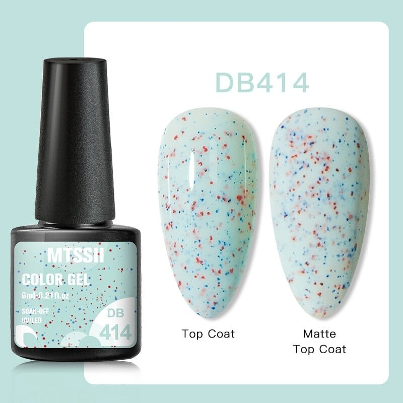 Mtssii 6ml nail polish suitable for uv lamp or led lamp