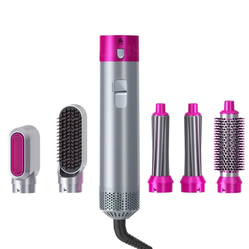 Professional hair dryer with infrared negative ionic