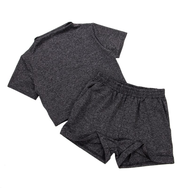 Casual two-piece summer tracksuit
