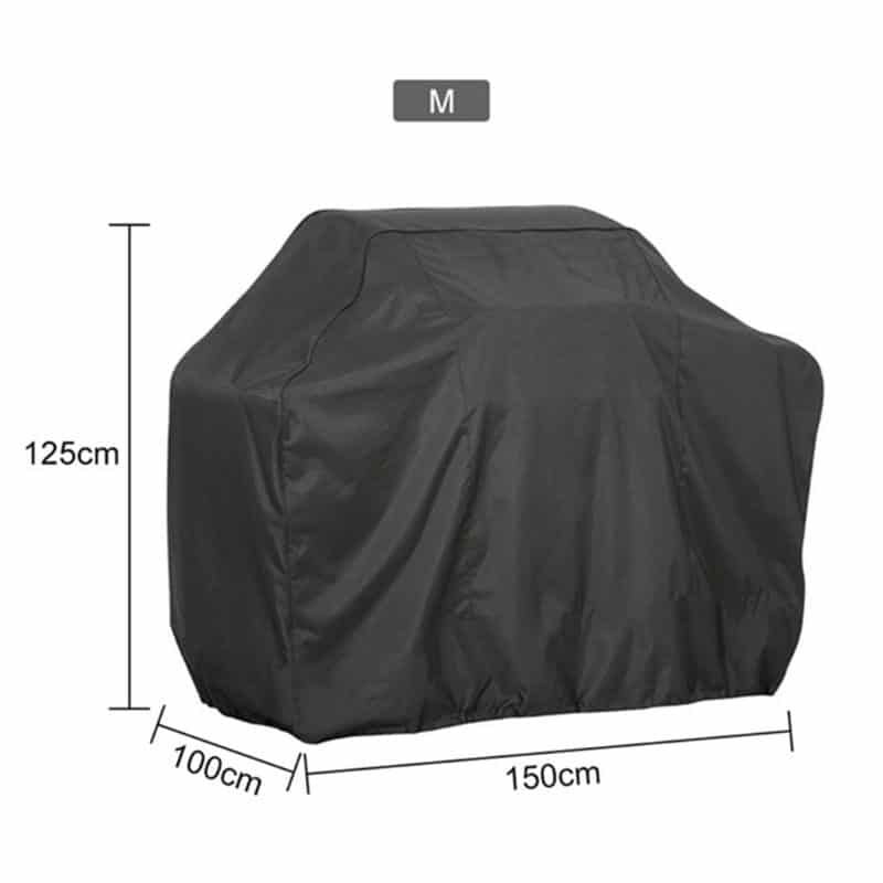 1pc 190t/210d bbq cover anti-dust waterproof weber heavy duty charbroil grill cover rain protective barbecue cover round