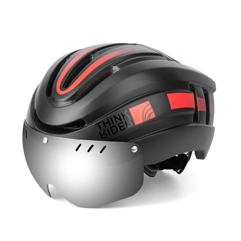 PROMEND Bicycle Helmet LED Light Rechargeable Intergrally-molded Cycling Helmet Mountain Road Bike Helmet Sport Safe Hat For Man 9