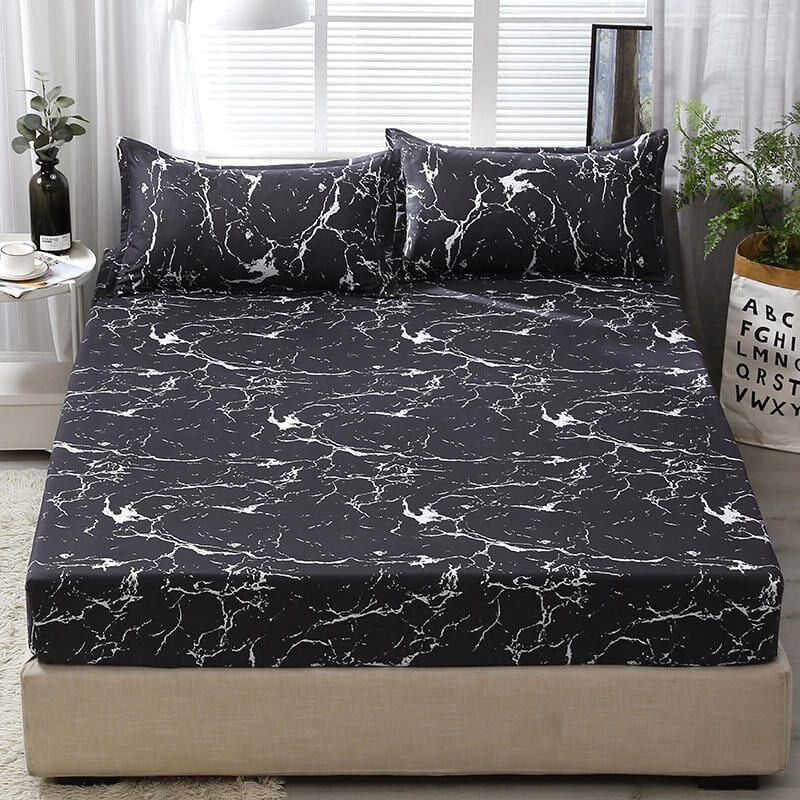 3 pcs bed sheets with pillowcase