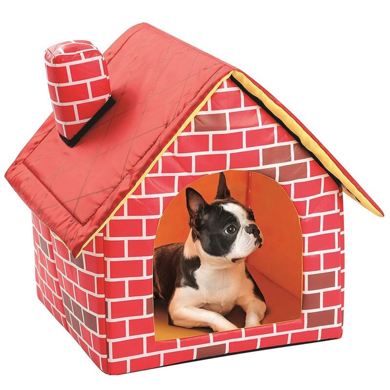 Portable bed for for dog in house design
