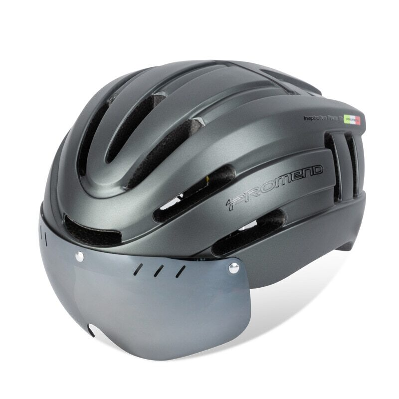 PROMEND Bicycle Helmet LED Light Rechargeable Intergrally-molded Cycling Helmet Mountain Road Bike Helmet Sport Safe Hat For Man 10