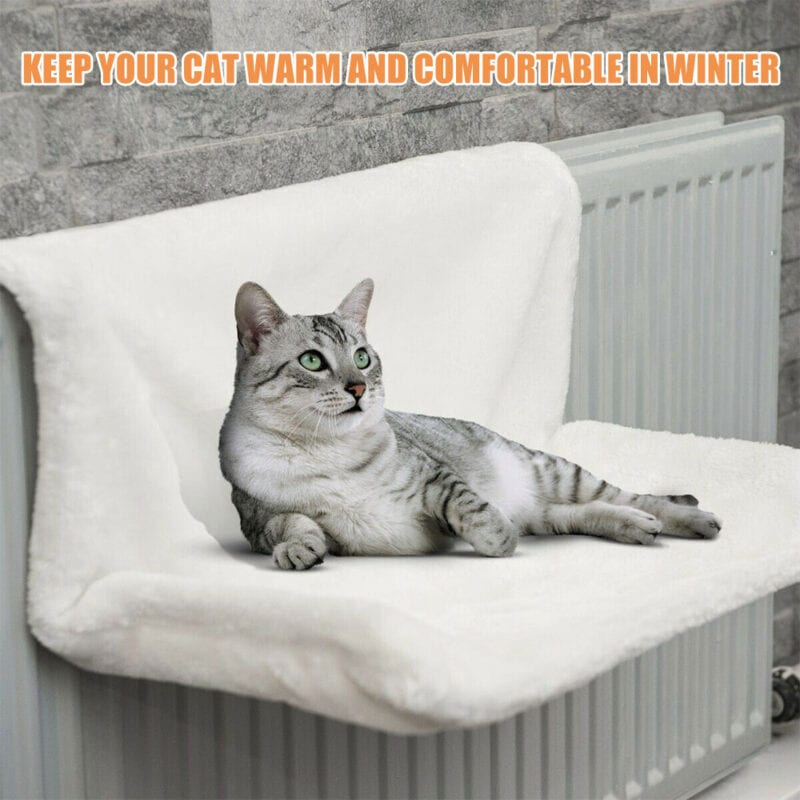 Hanging bed for cats