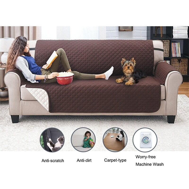 Waterproof sofa cover for pets