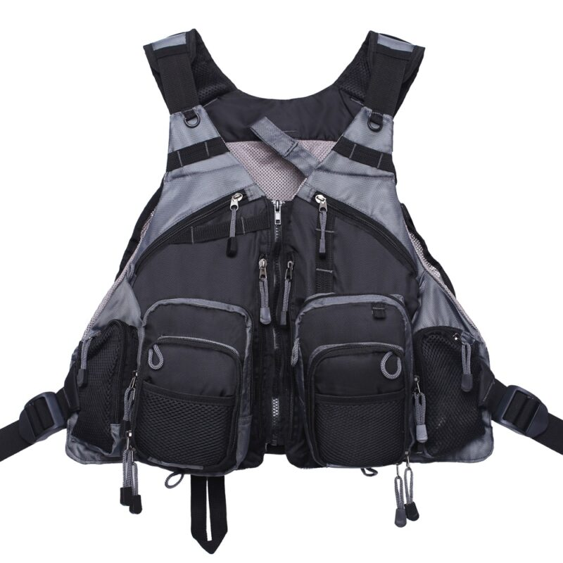 Fly fishing vest pack for trout