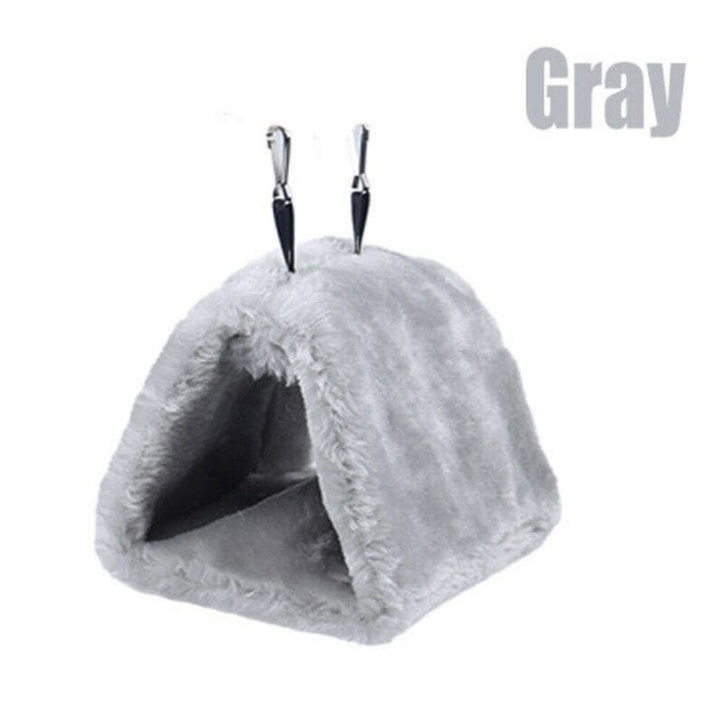 Fashion Newest Hot Sales Pet Bird Parrot Parakeet Budgie Warm Hammock Cage Hut Tent Bed Hanging Cave 11