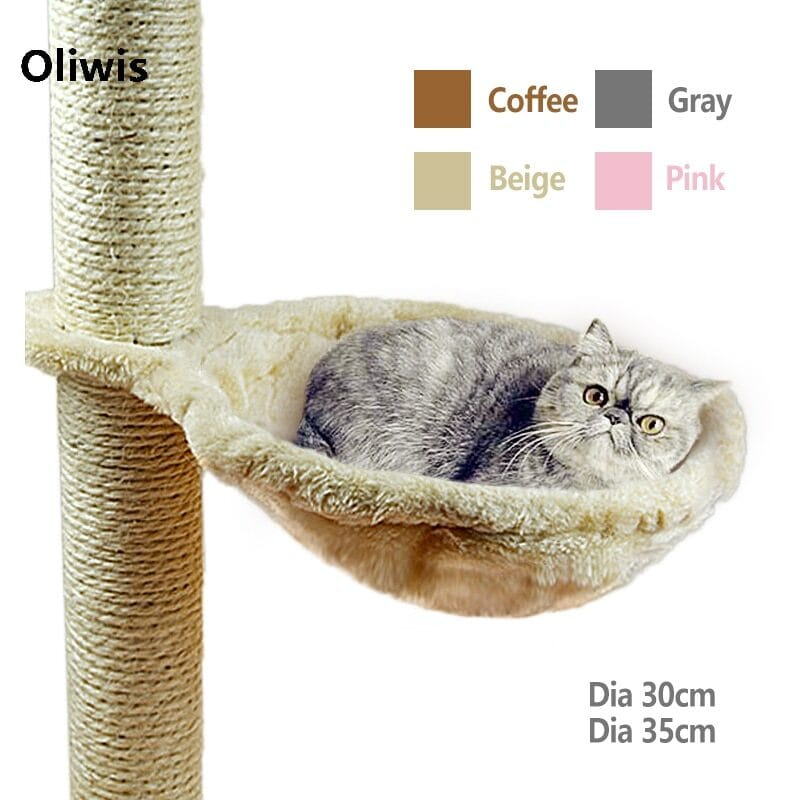 Hammock bed for cats