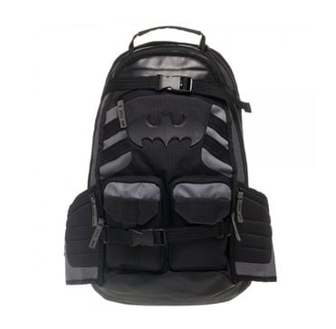 Amazing school backpack of marvel with batman, deadpool and avengers