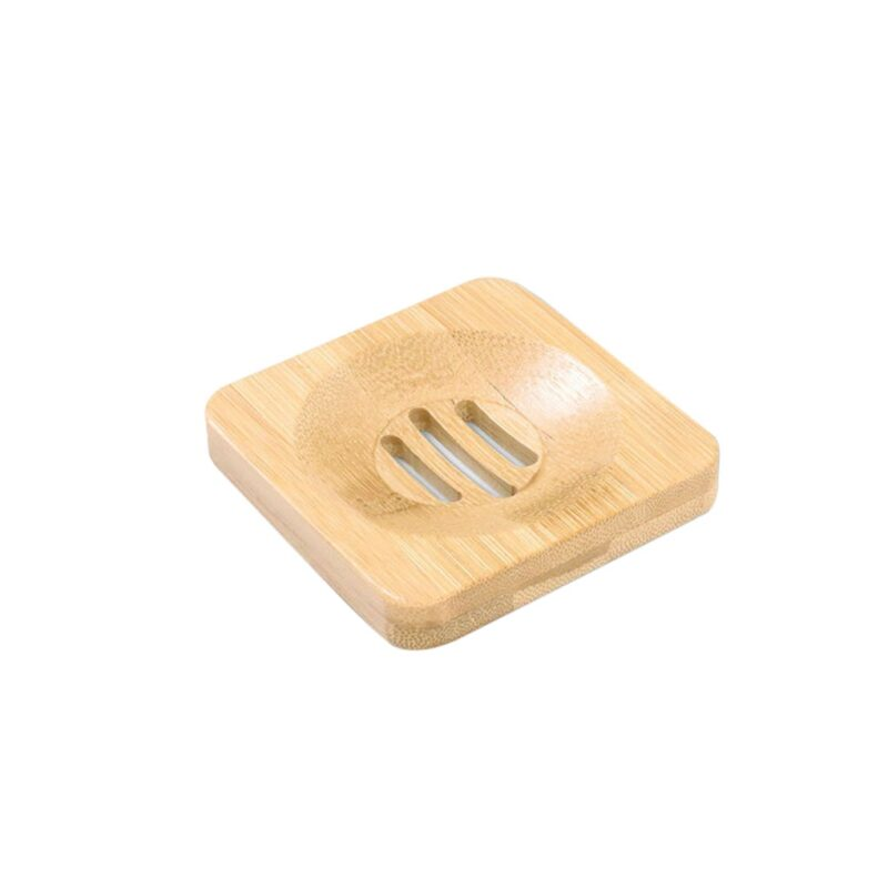 Wooden Natural Bamboo Soap Dishes Tray Holder Storage Soap Rack Plate Box Container Portable Bathroom Soap Dish Storage Box 8