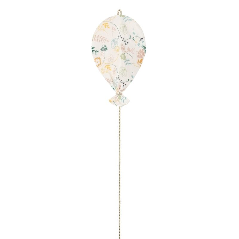 Printed double-sided cotton balloons for decor