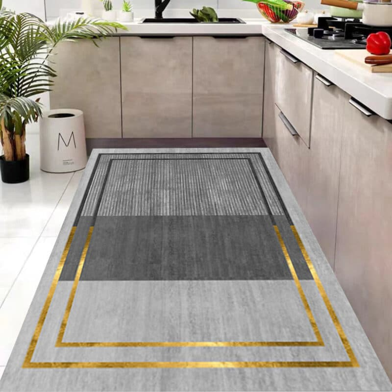 Carpet for the kitchen waterproof and oilproof