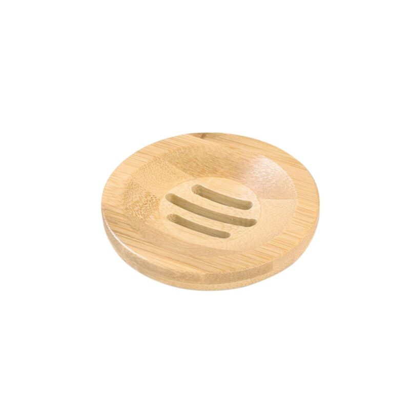 Wooden Natural Bamboo Soap Dishes Tray Holder Storage Soap Rack Plate Box Container Portable Bathroom Soap Dish Storage Box 9