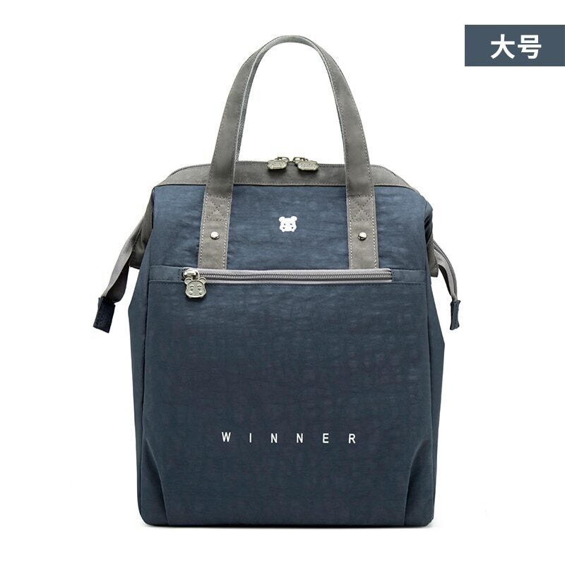 Portable lunch bag with thermal lining