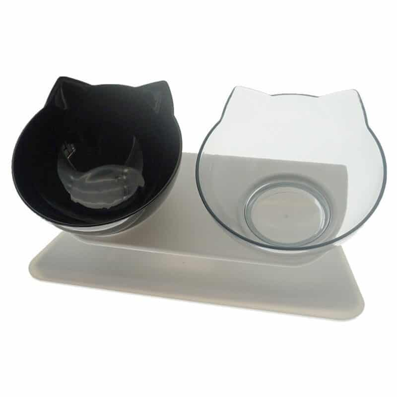 Non-Slip Double Cat Bowl Dog Bowl With Stand Pet Feeding Cat Water Bowl For Cats Food Pet Bowls For Dogs Feeder Product Supplies 10