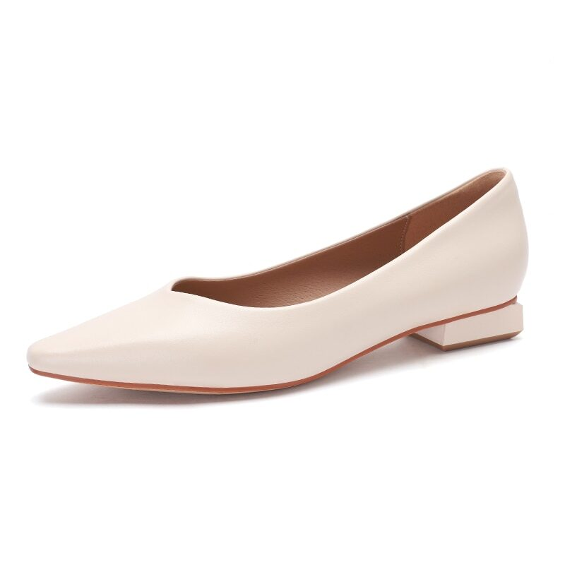 New 2021 Spring Women Shoes Moccasins Low Square Heels Brand Design Gold Buckle Female Slip On Casual Elegant Comfortable Pumps 14