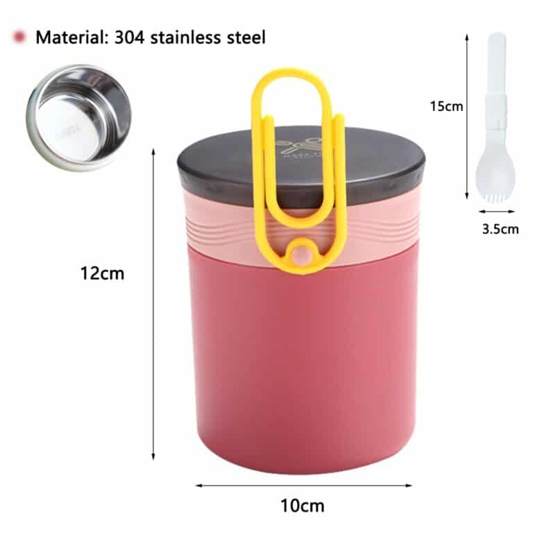 304 Stainless Steel Lunch Box Bento Box For School Kids Office Worker 2layers Microwae Heating Lunch Container Food Storage Box 11