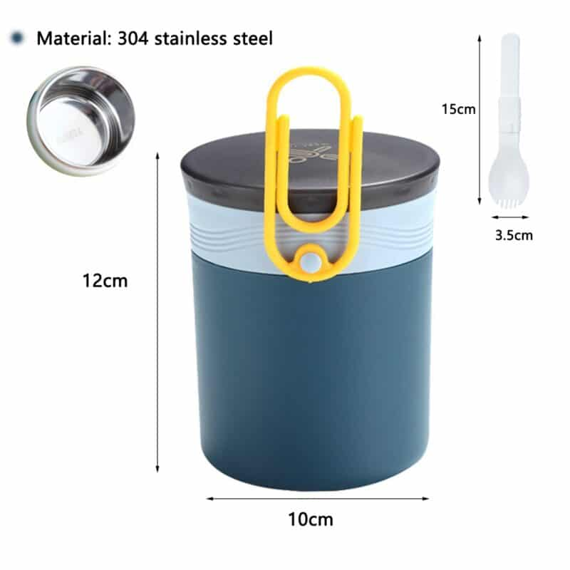 304 Stainless Steel Lunch Box Bento Box For School Kids Office Worker 2layers Microwae Heating Lunch Container Food Storage Box 9