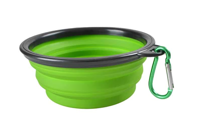 1000ml Large Collapsible Dog Pet Folding Silicone Bowl Outdoor Travel Portable Puppy Food Container Feeder Dish Bowl 11