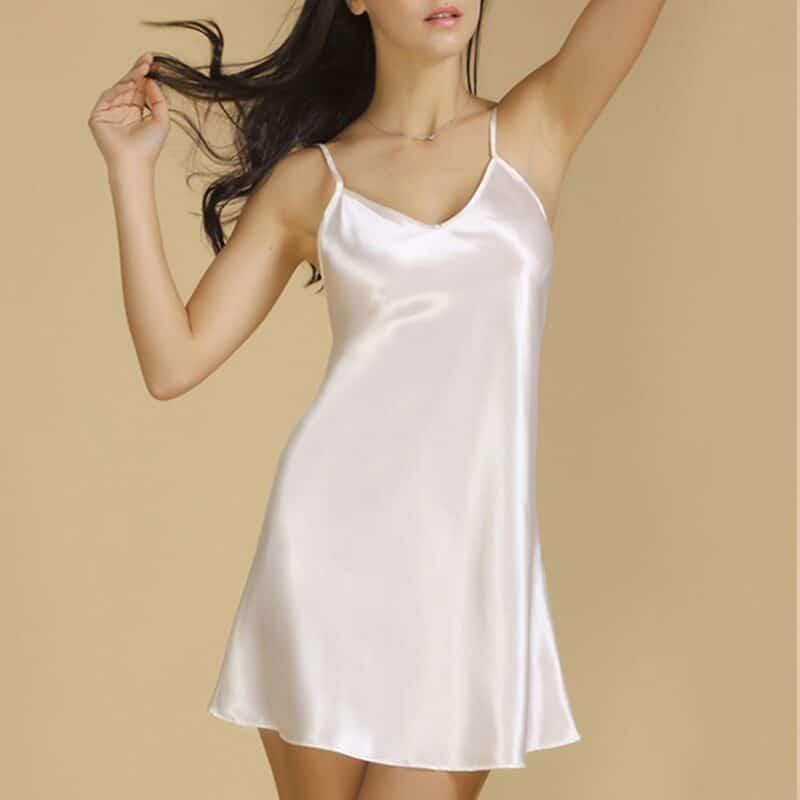 Mulberry silk nightgowns for women