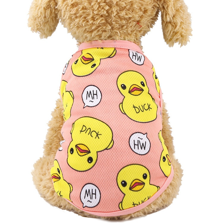 Blouse cartoon for small dogs