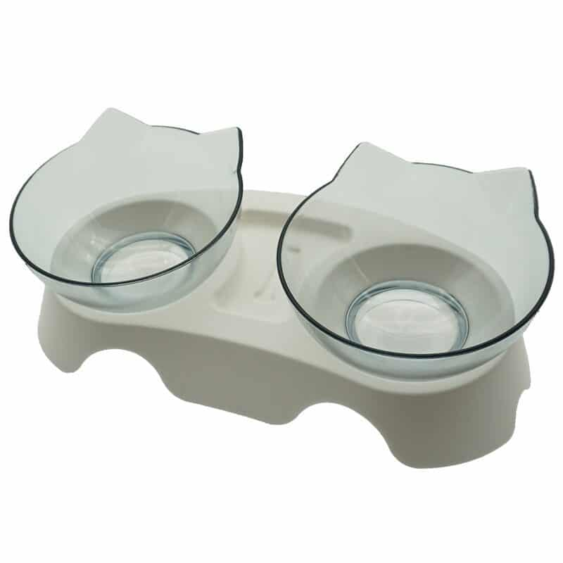 Non-Slip Double Cat Bowl Dog Bowl With Stand Pet Feeding Cat Water Bowl For Cats Food Pet Bowls For Dogs Feeder Product Supplies 9