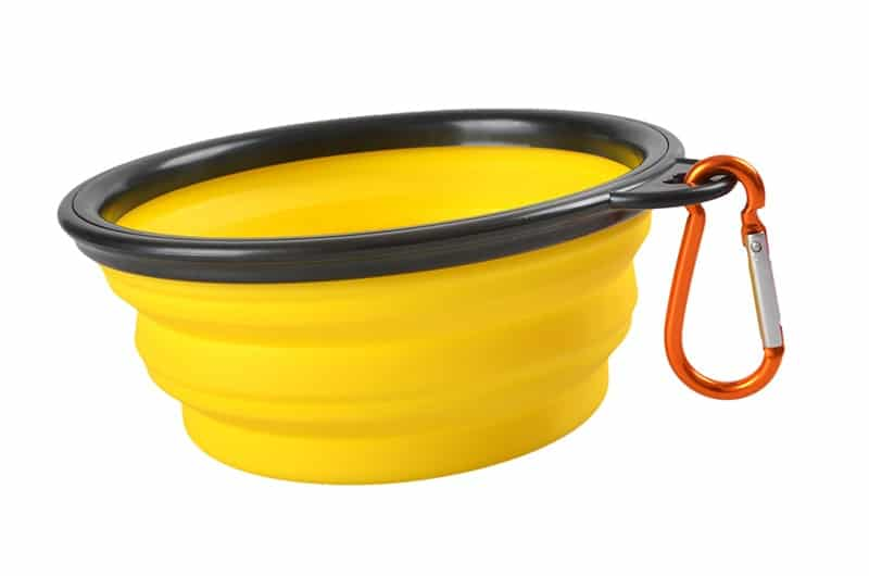 1000ml Large Collapsible Dog Pet Folding Silicone Bowl Outdoor Travel Portable Puppy Food Container Feeder Dish Bowl 13