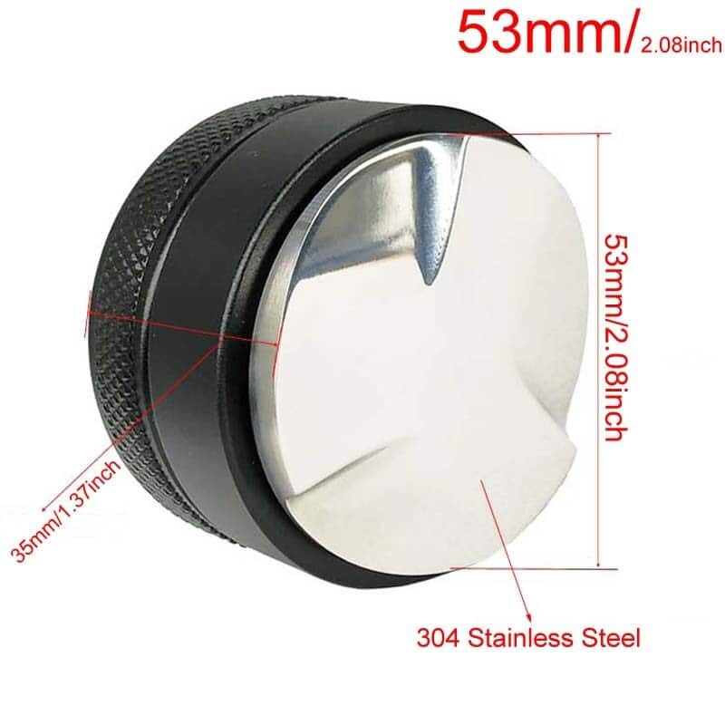 Coffee Bottomless Portafilter for Filter 51MM Replacement Filter Basket Coffee Accessories 47