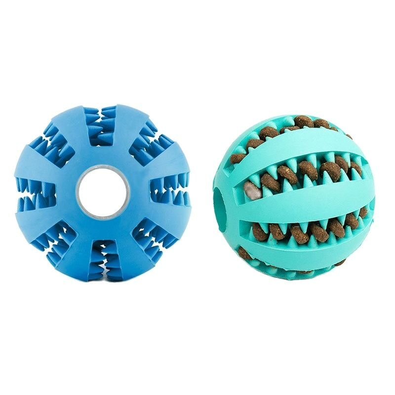 Plastic ball toy for dogs