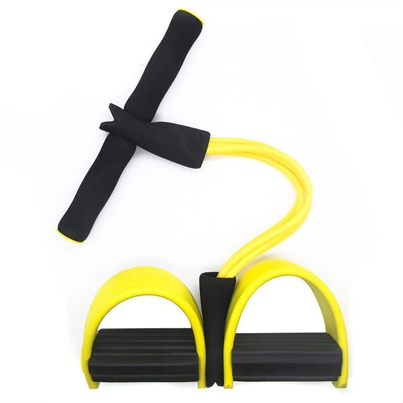 4 Resistance Bands Fitness Elastic Pull Ropes Exerciser Rower Belly Home Gym Sport Elastic Bands For Workout Fitness Equipment 11