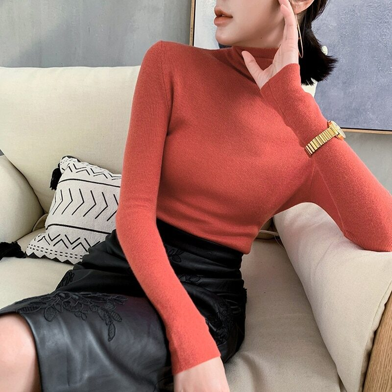 Women's 100% cashmere wool pullover