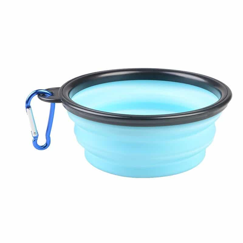 1000ml Large Collapsible Dog Pet Folding Silicone Bowl Outdoor Travel Portable Puppy Food Container Feeder Dish Bowl 9