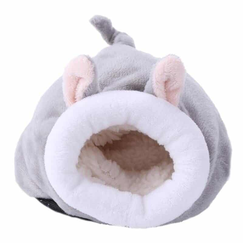 Pet Cage for Hamster Accessories Pet Bed Mouse Cotton House Small Animal Nest Winter Warm For Rodent/Guinea Pig/Rat/Hedgehog New 12