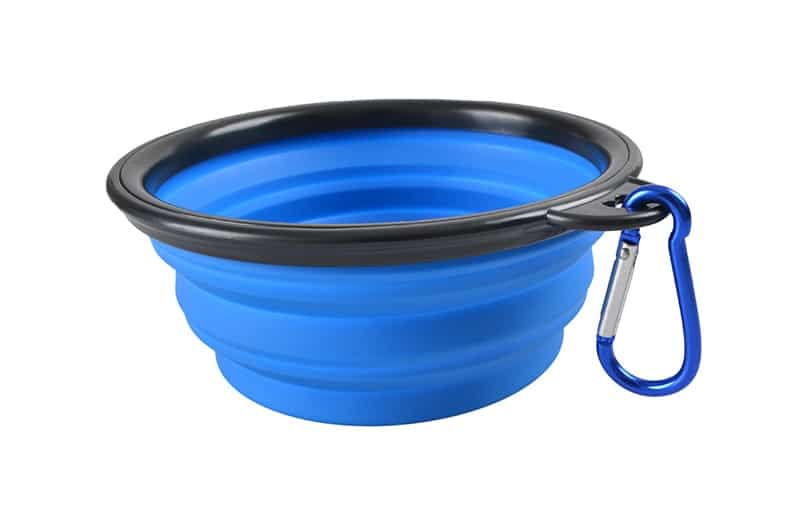 1000ml Large Collapsible Dog Pet Folding Silicone Bowl Outdoor Travel Portable Puppy Food Container Feeder Dish Bowl 15