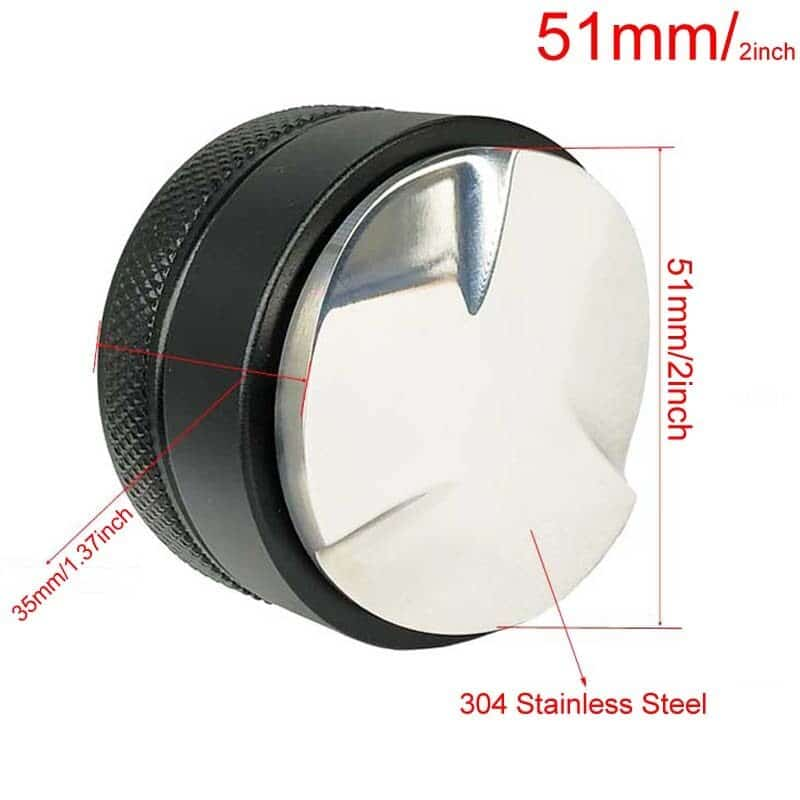 Coffee Bottomless Portafilter for Filter 51MM Replacement Filter Basket Coffee Accessories 9