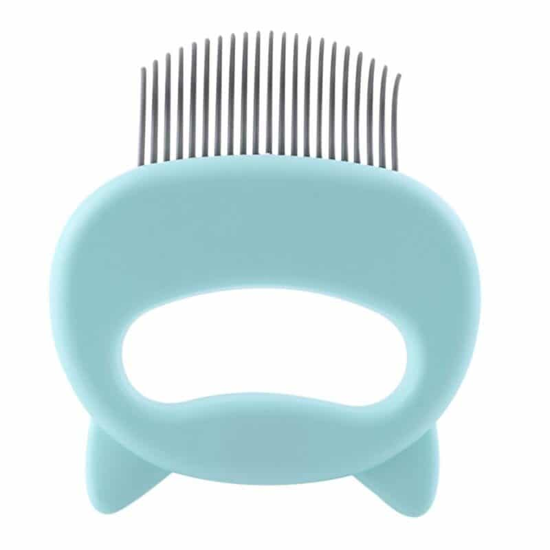 Pet Massage Brush Shell Shaped Handle Pet Grooming Massage Tool To Remove Loose Hairs Only For Cats New 9