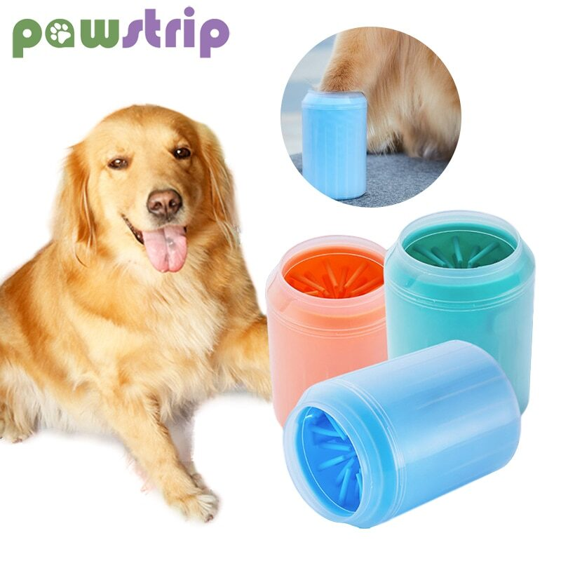 S/M/L Pet Foot Washing Cup Silicone Dog Paw Cleaner Cups Soft Combs for Quickly Clean Dogs Cats Dirt Paw Pet Foot Wash Tools 1