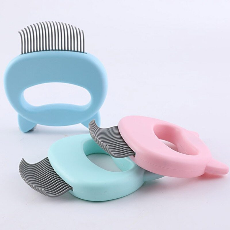 Pet Massage Brush Shell Shaped Handle Pet Grooming Massage Tool To Remove Loose Hairs Only For Cats New 1